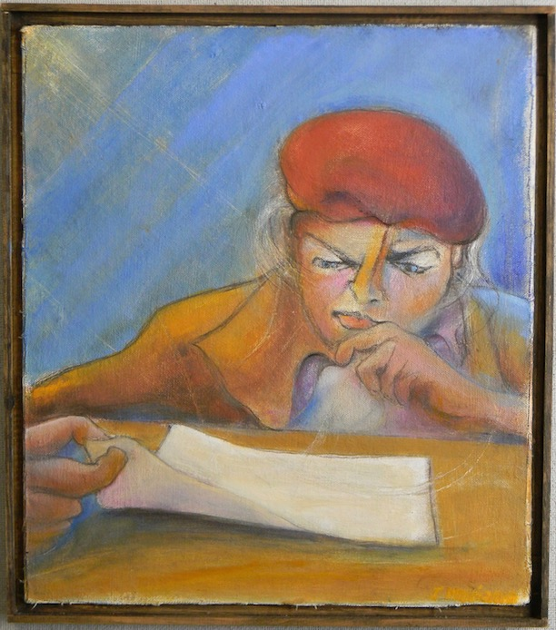 Woman Reading 14x16 $500