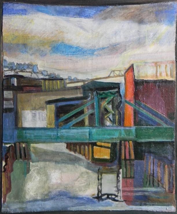 Gowanus Canal 1998 14x17 $500