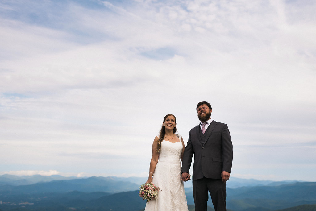 married on top of the mountains