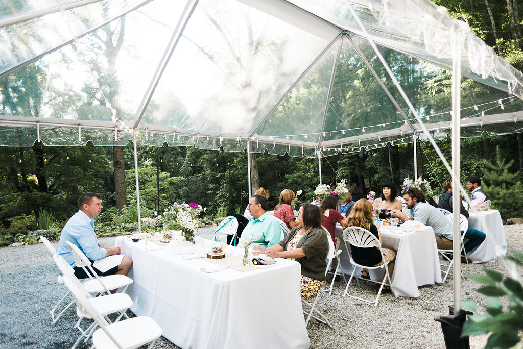 Nantahala Weddings reception