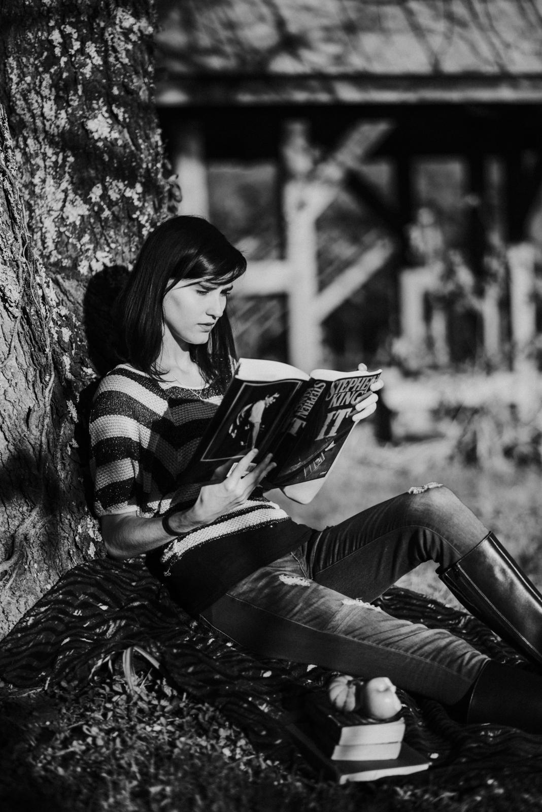 senior shoot reading