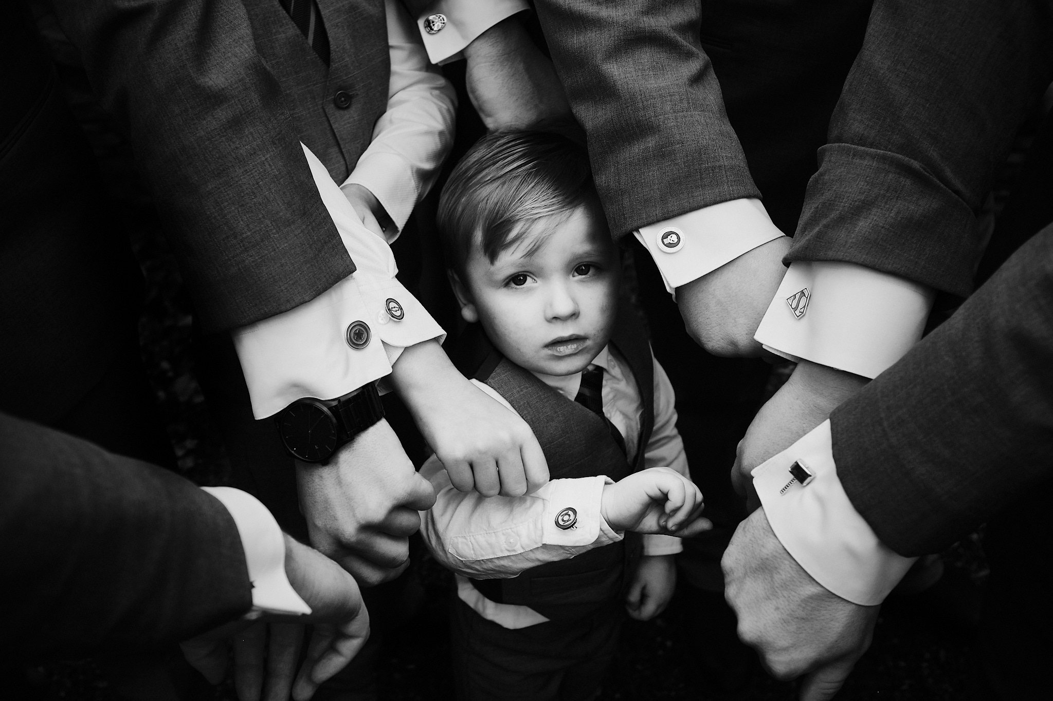 groomsmen at Hackney