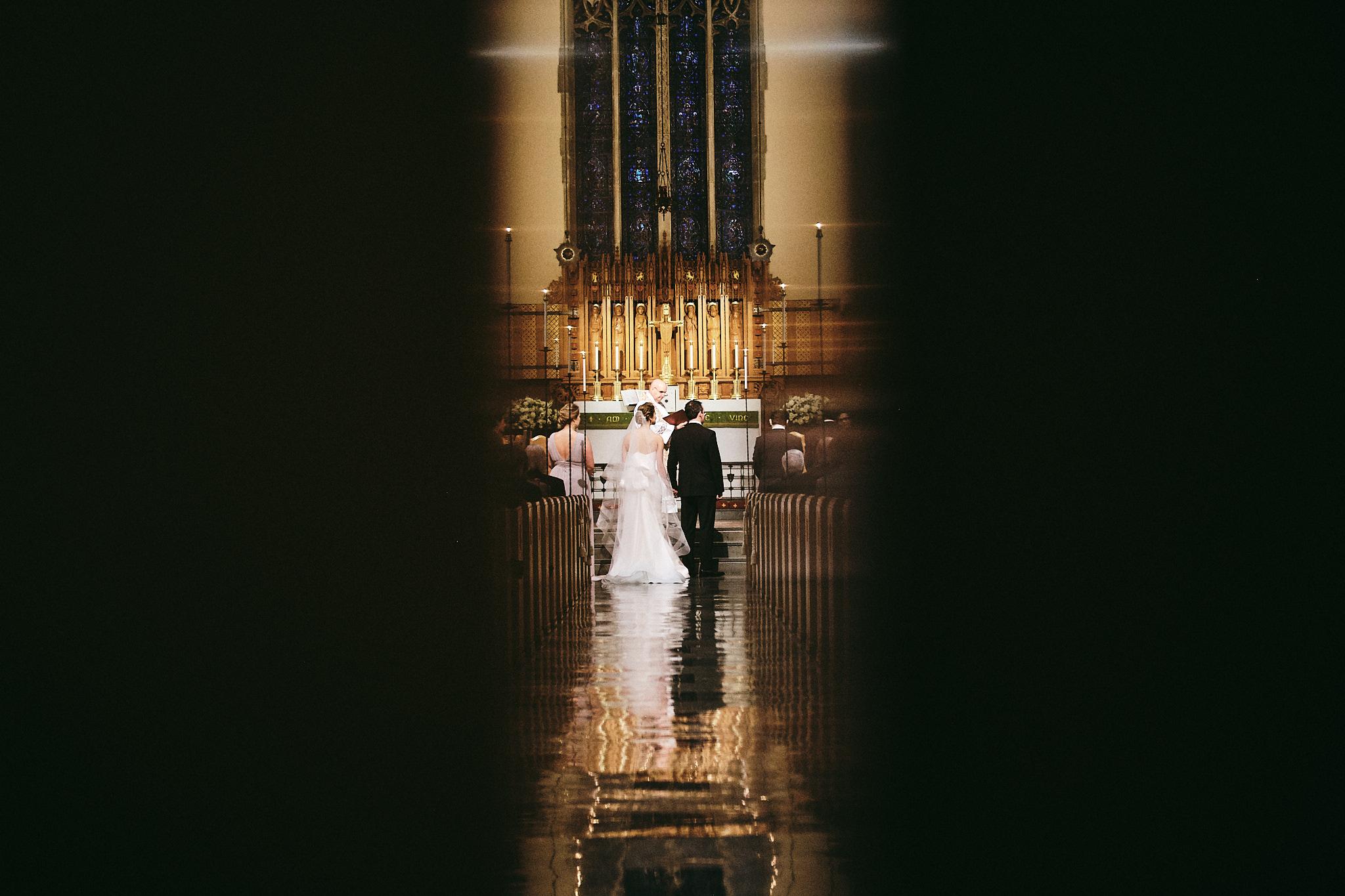 Lutheran Church of the Redeemer Atlanta wedding ceremony