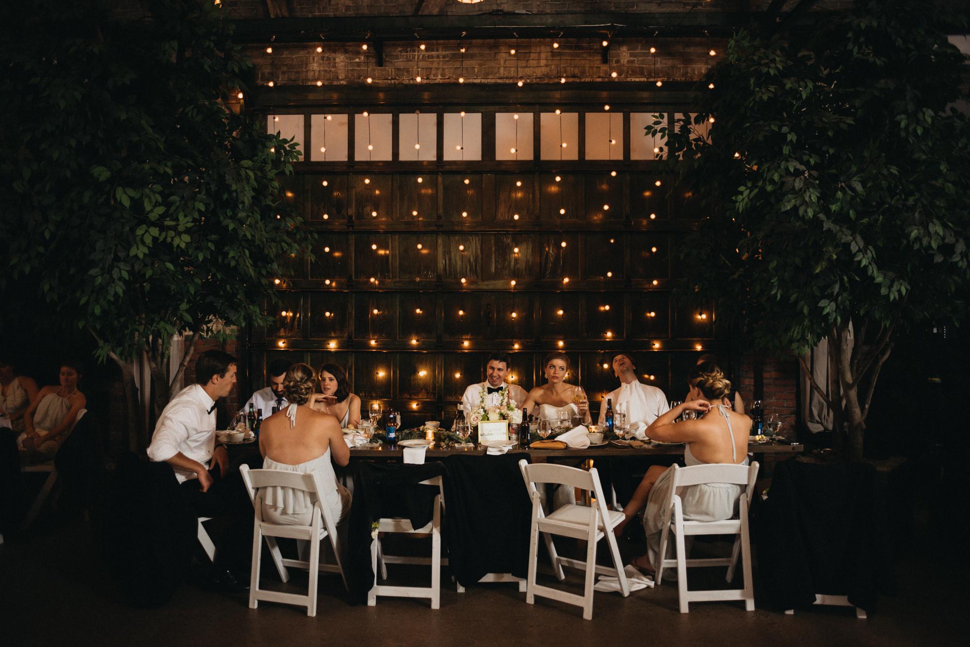 Savannah wedding reception