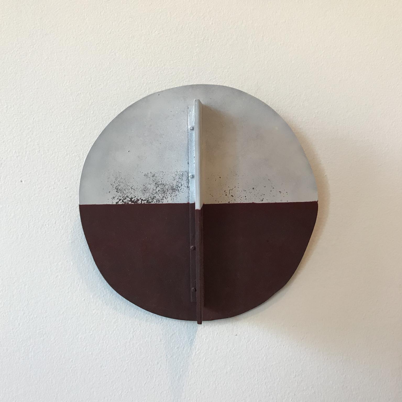Round wall piece