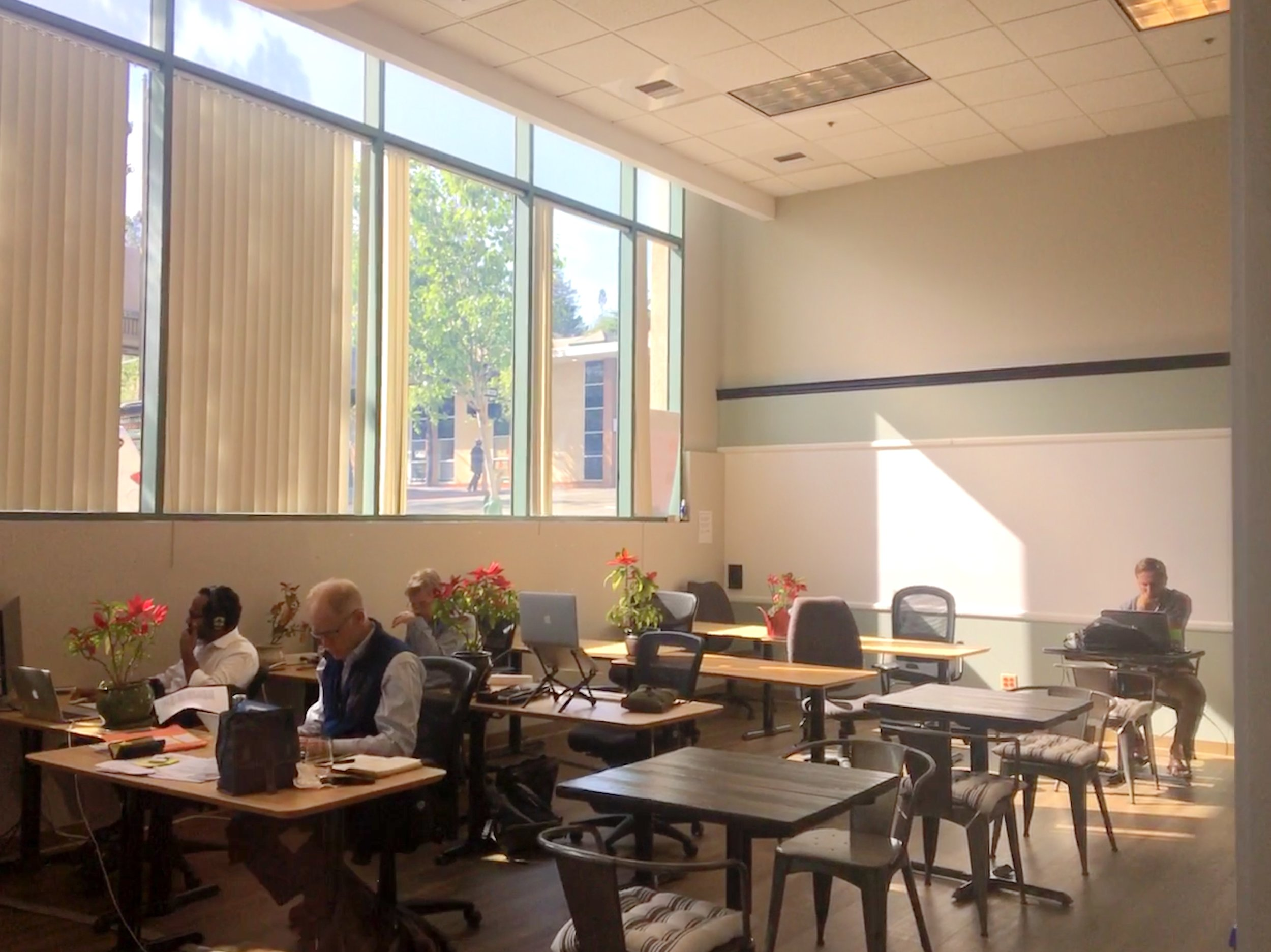 COMMUNITY$95/month.Get your toes wet, and a feel for our community with this option. 6 hours/month of workspace use. Rent our meeting rooms by the hour. 10% discount on events and learning programs. -