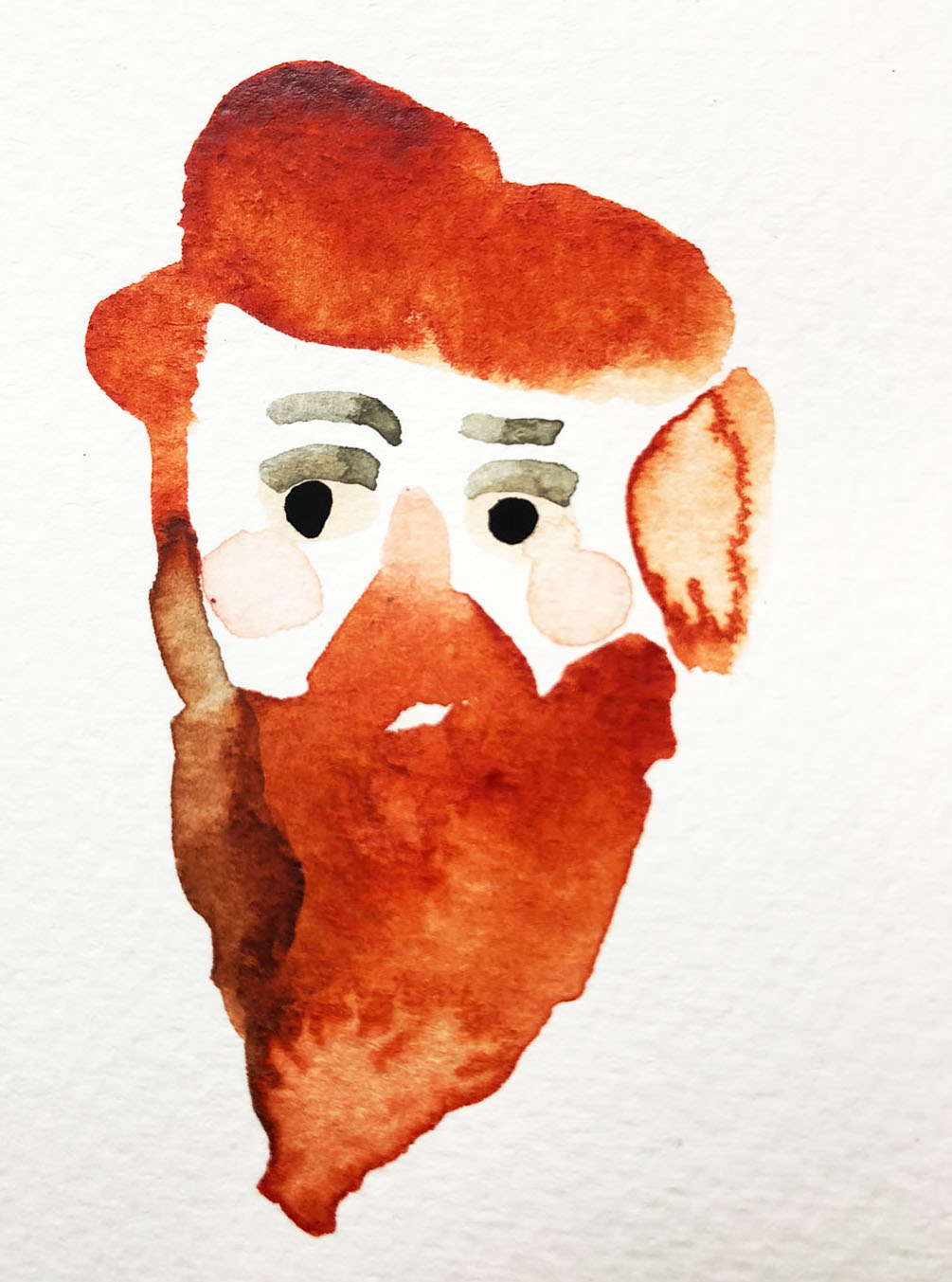 Everyone had red hair. John Hopkins became Papa.
