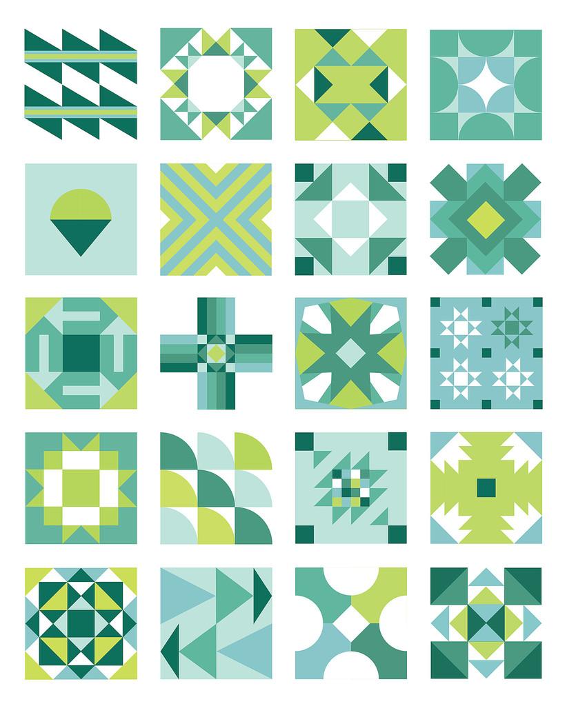 Summertime Sampler 2016 pattern