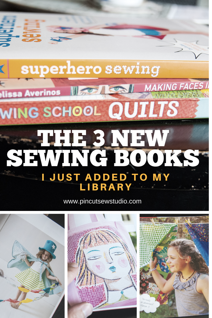 Three new sewing books to check out!