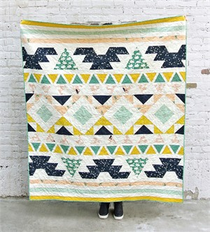 Warrior Quilt Pattern, free on fabricworm