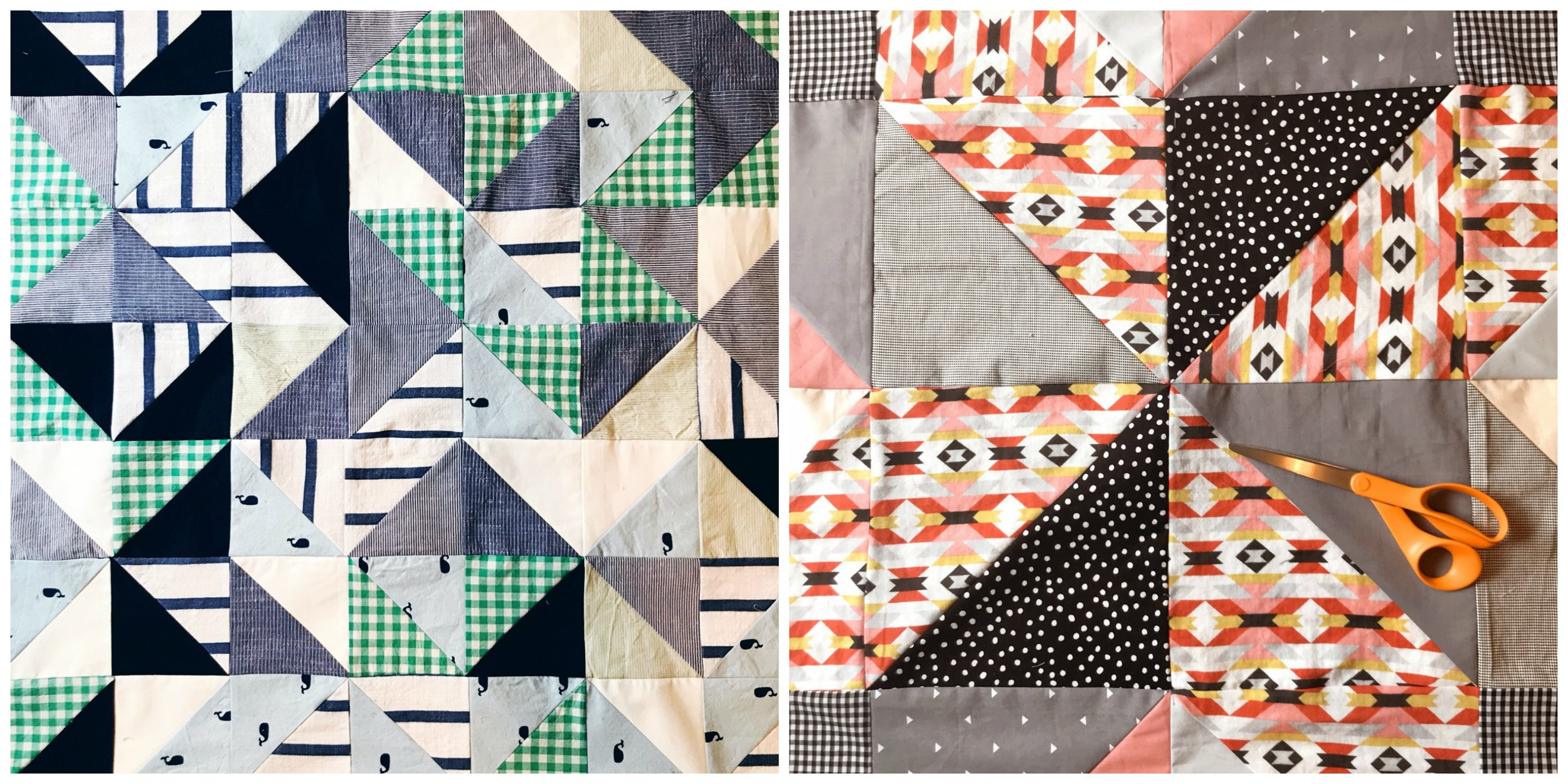 baby quilts by Nikki of Pin, Cut, Sew Studio