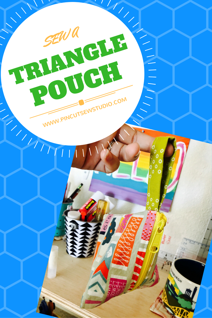 How to Sew a Triangle Pouch - Video Tutorial