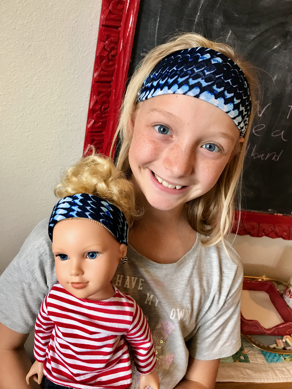 How to Make Soft Headbands - Instructions for girls and dolls!