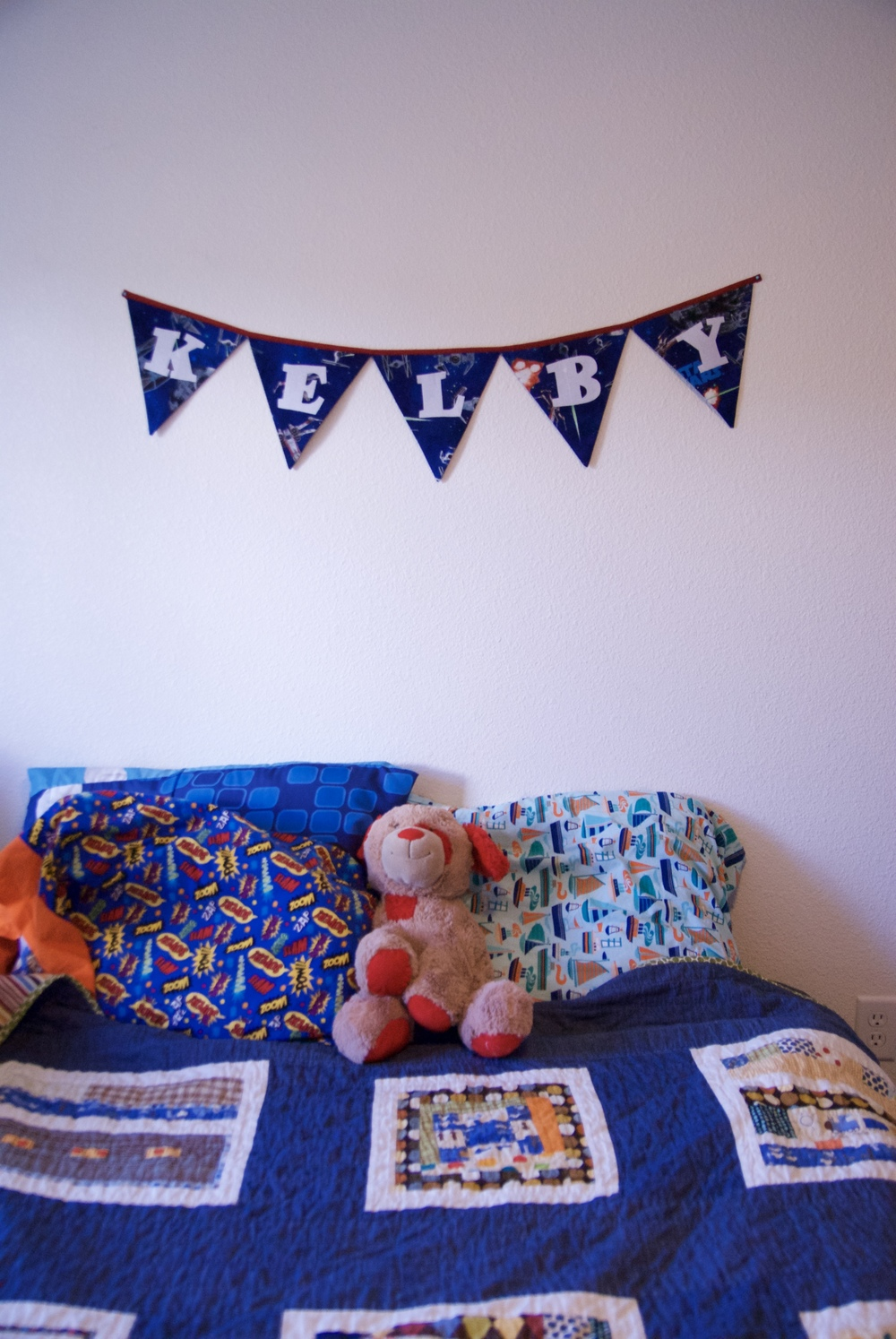 How to Make a Name Banner Bunting - Free Tutorial