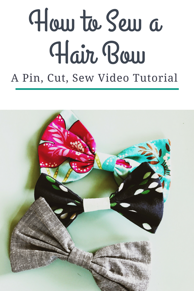 How to Make Hair Bows - Video Tutorial