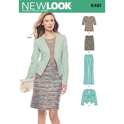 New Look 6481