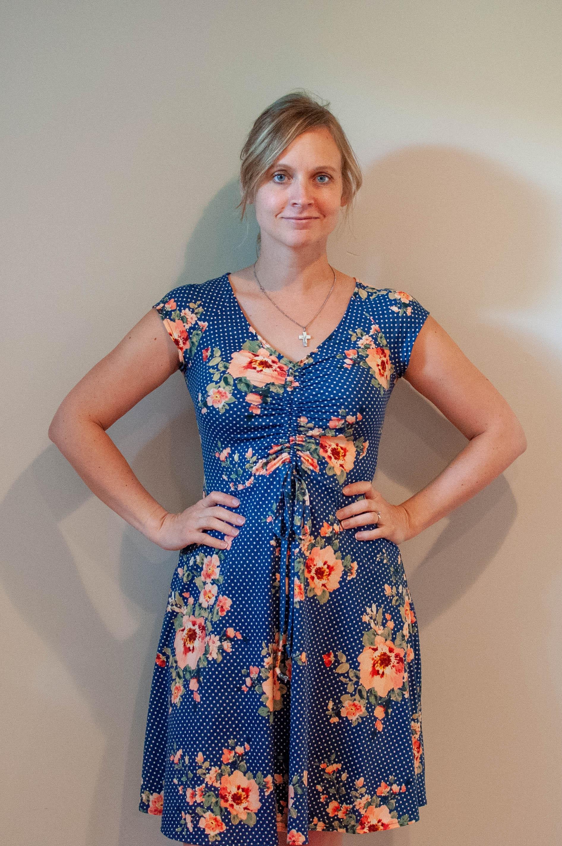 Knit dress, McCall's 7812