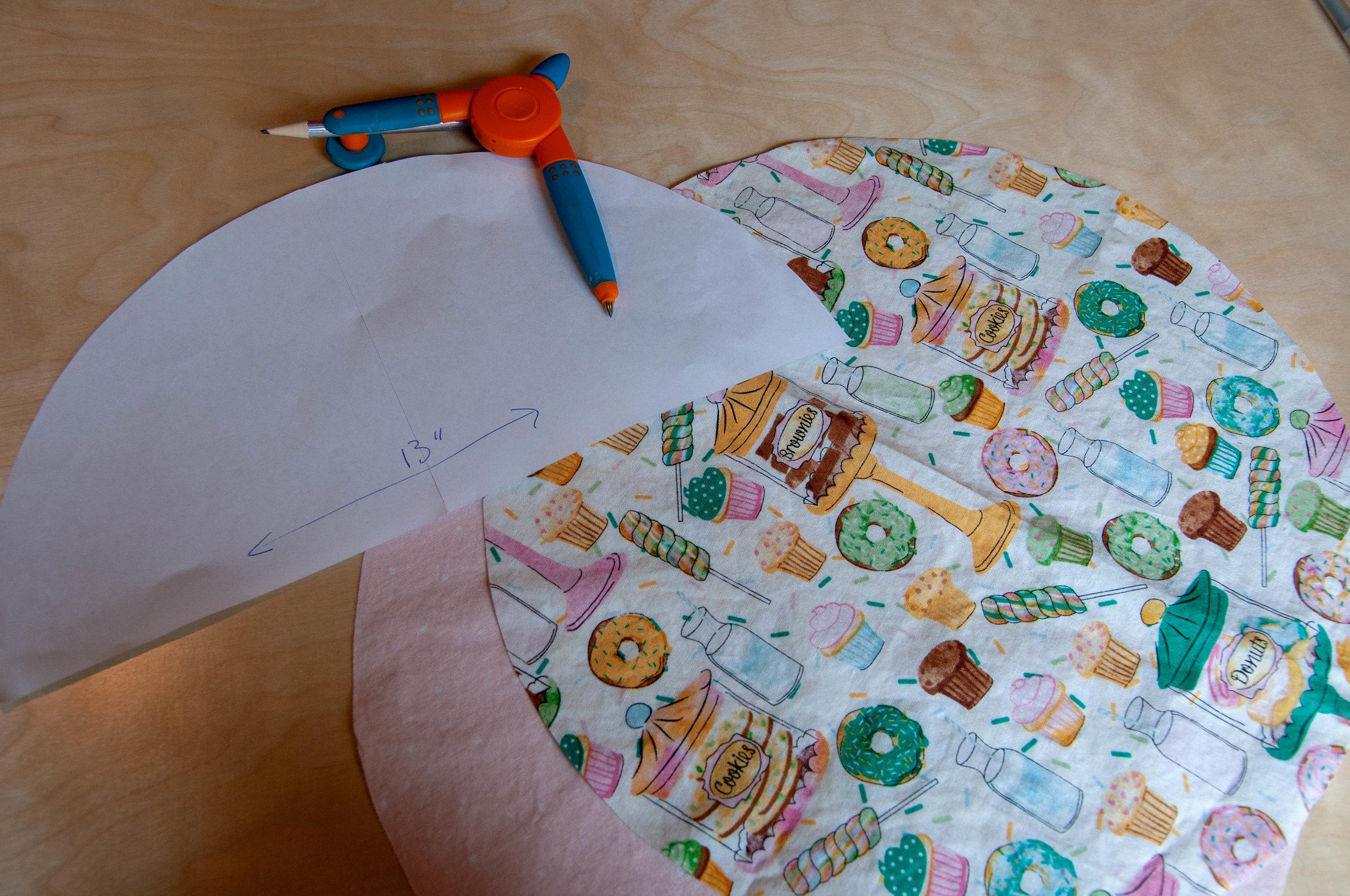 Drawstring Bag tutorial by Pin, Cut, Sew Studio.