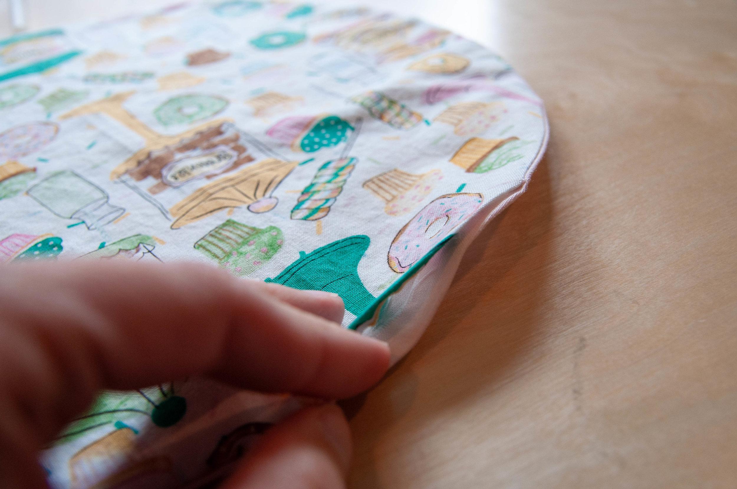 How to make a drawstring bag, a tutorial