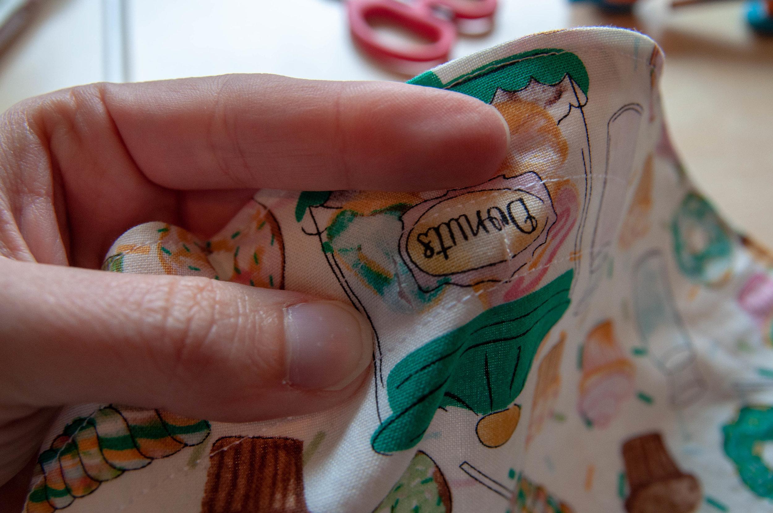 Drawstring pouch tutorial