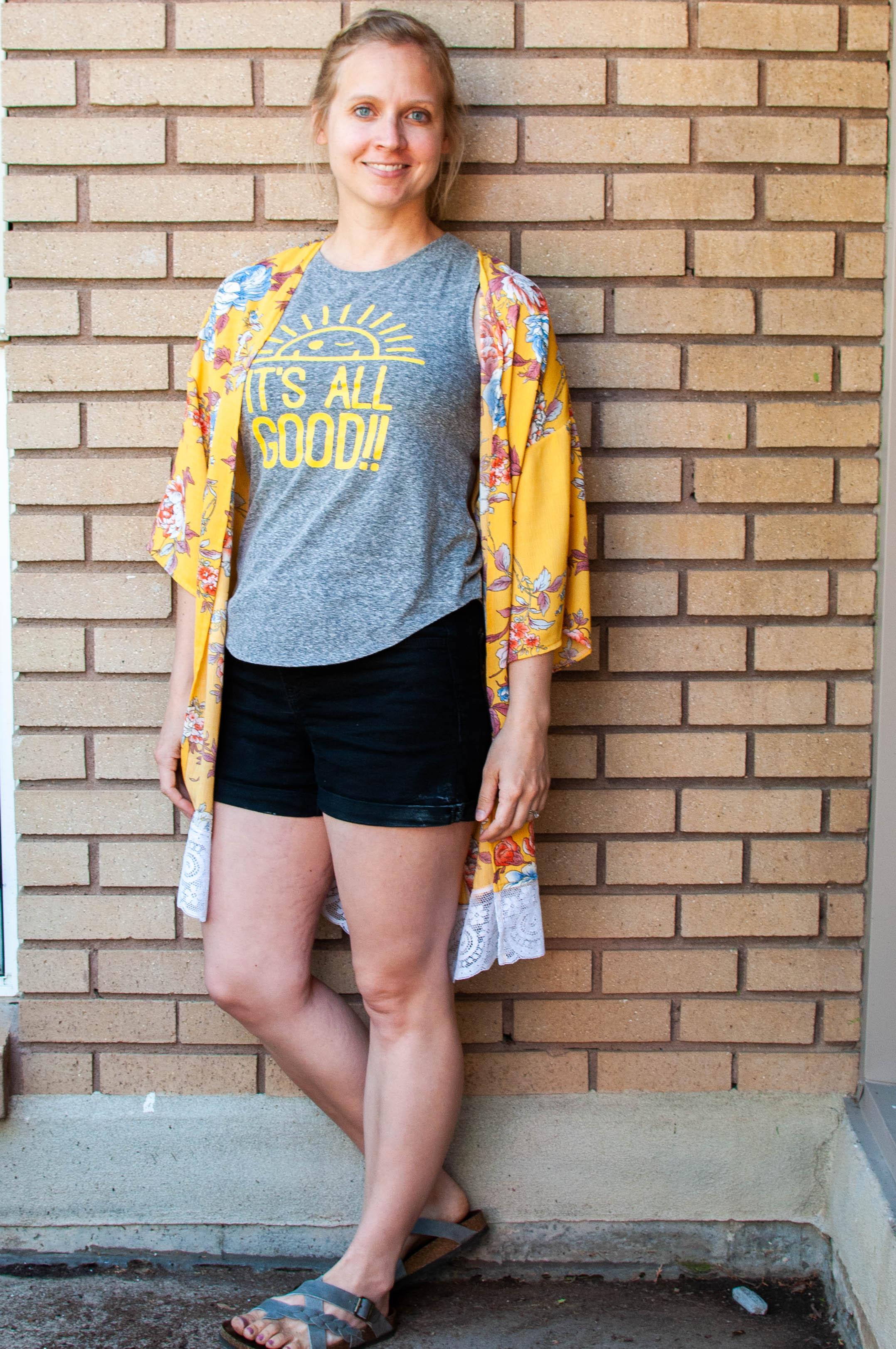 Sew a Kimono: Simplicity 8707