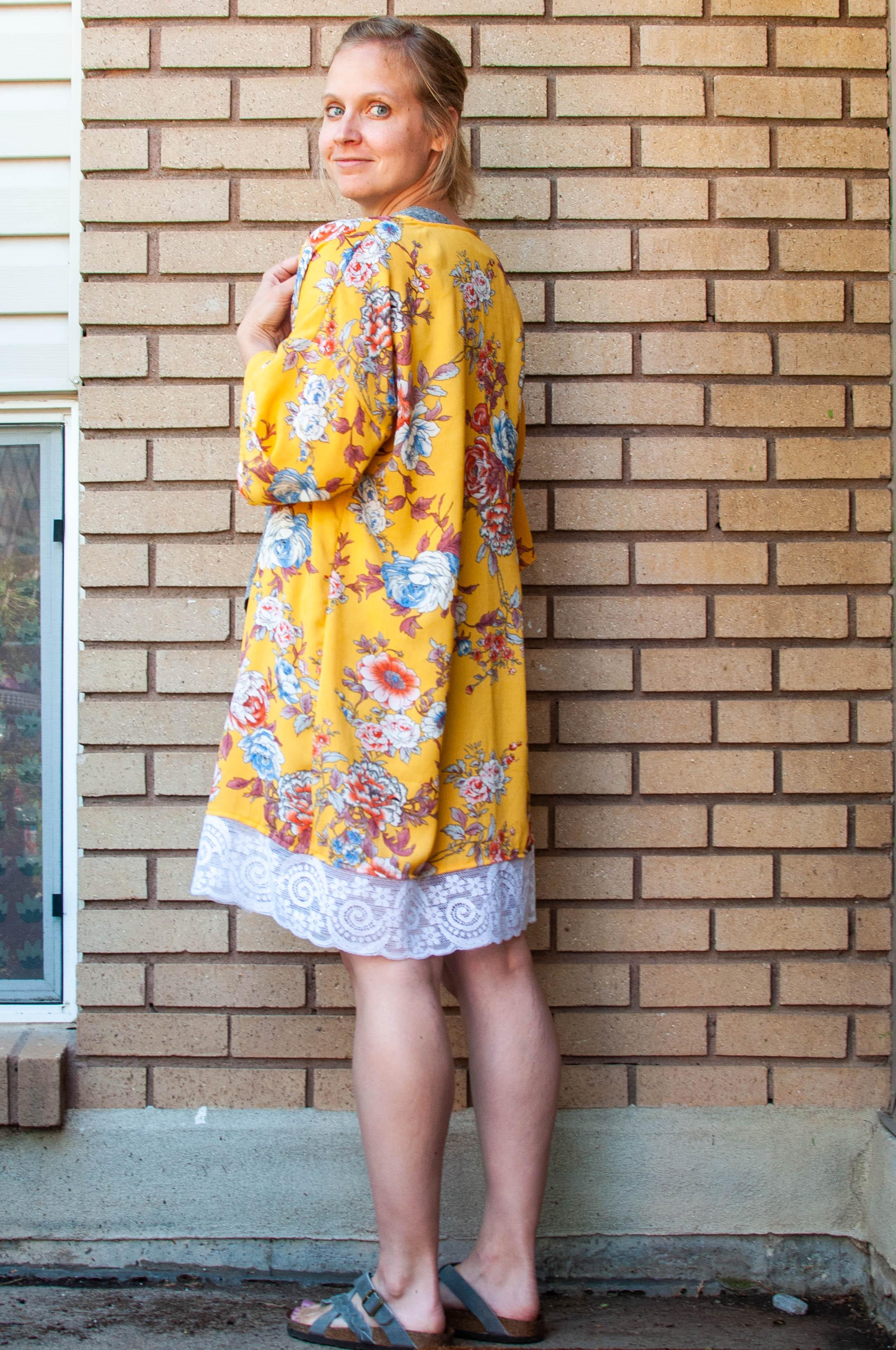 Kimono sewing inspiration, Simplicity Pattern 8707