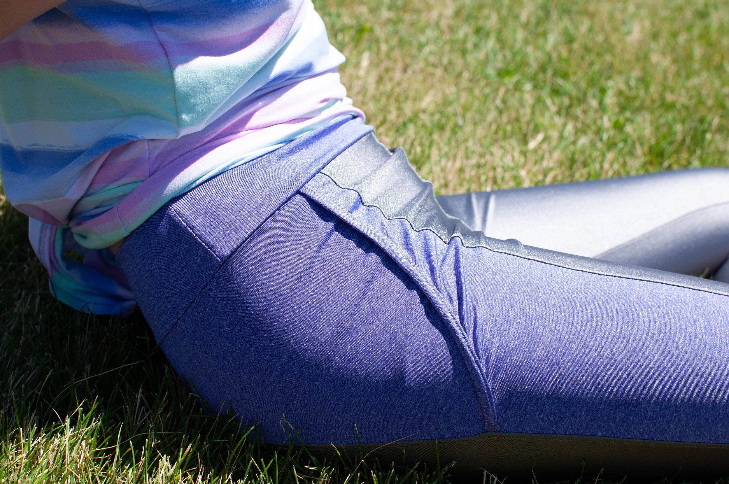 Sewing activewear, running leggings pattern: Simplicity 8634