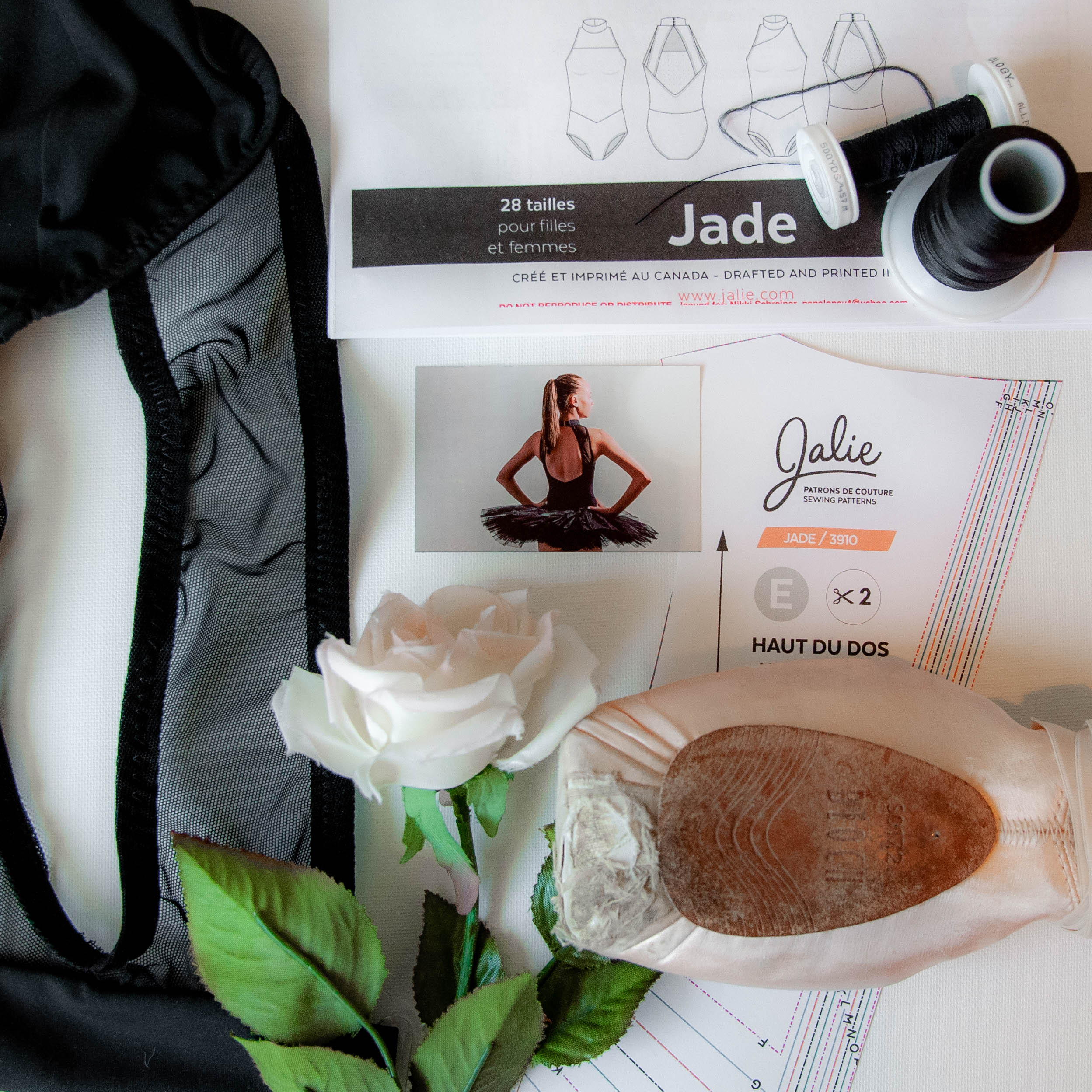 Sewing ballet leotards with Jalie Patterns || PIn, Cut, Sew Studio