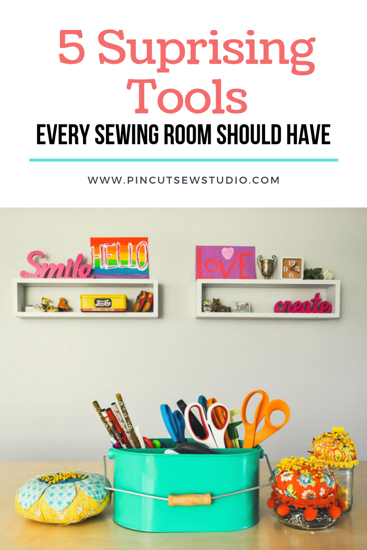 Unlikely sewing tools you should keep handy in your sewing room!