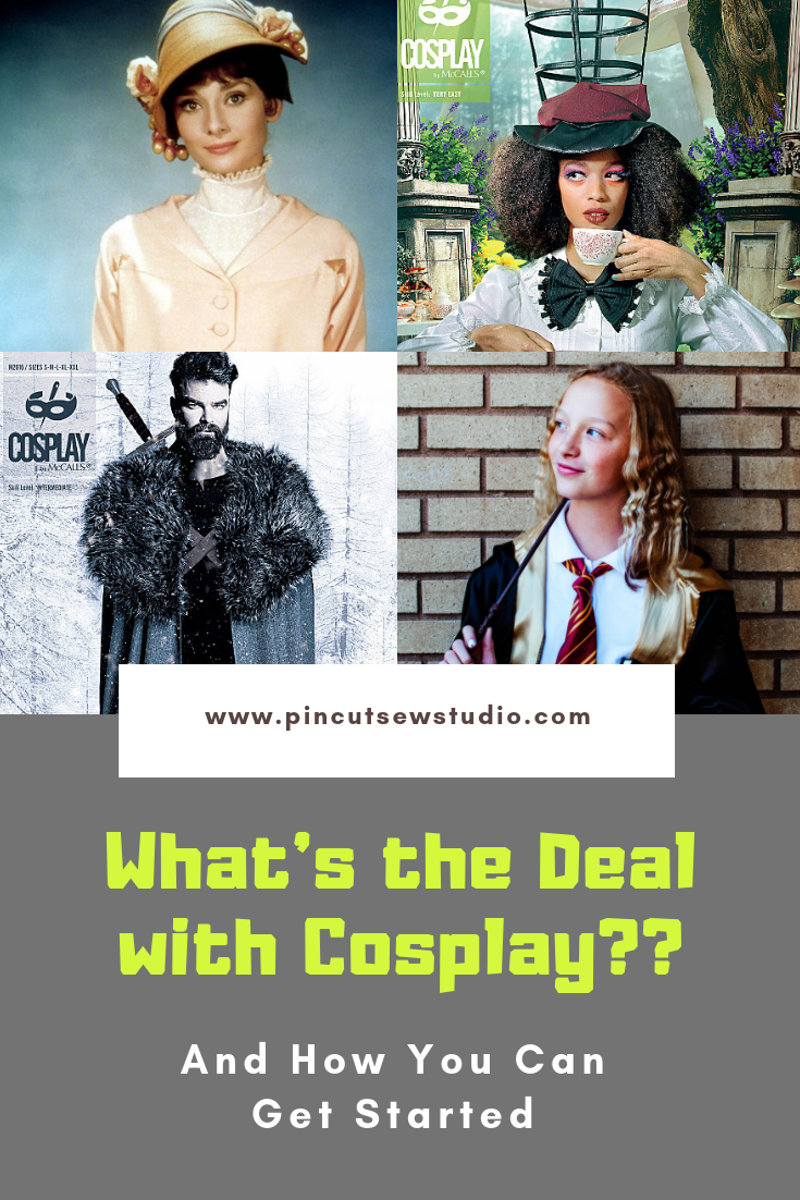 How to start with Cosplay sewing, even you're a beginner at sewing! Tools, inspo, books, patterns, all in one place. | Pin, Cut, Sew Studio