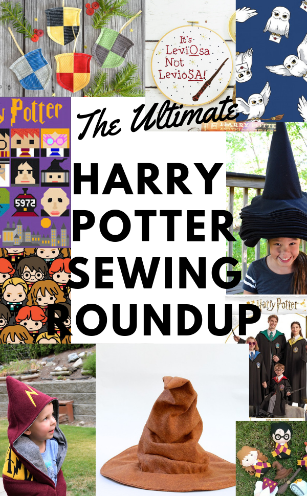 The best DIY Harry Potter ideas and tutorials. || PIn Cut Sew Studio #harrypotter #diy #costume