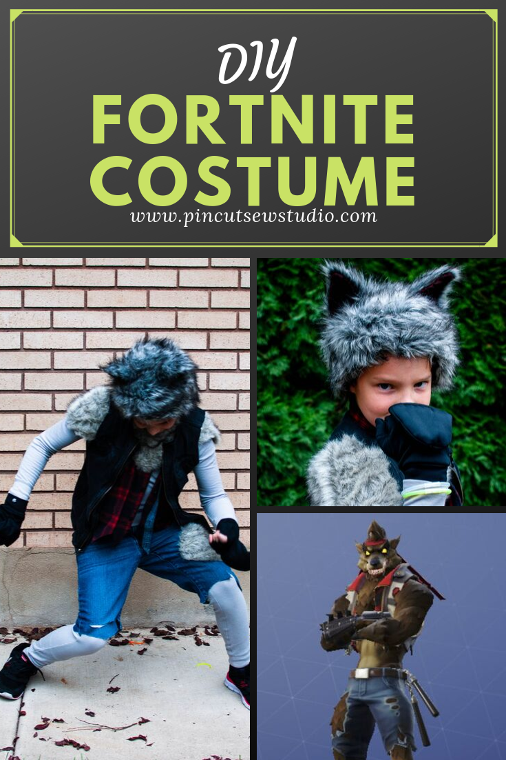 How to make a DIY Fortnite Dire costume! || Pin Cut Sew Studio #sewing #fortnite #costume #diy