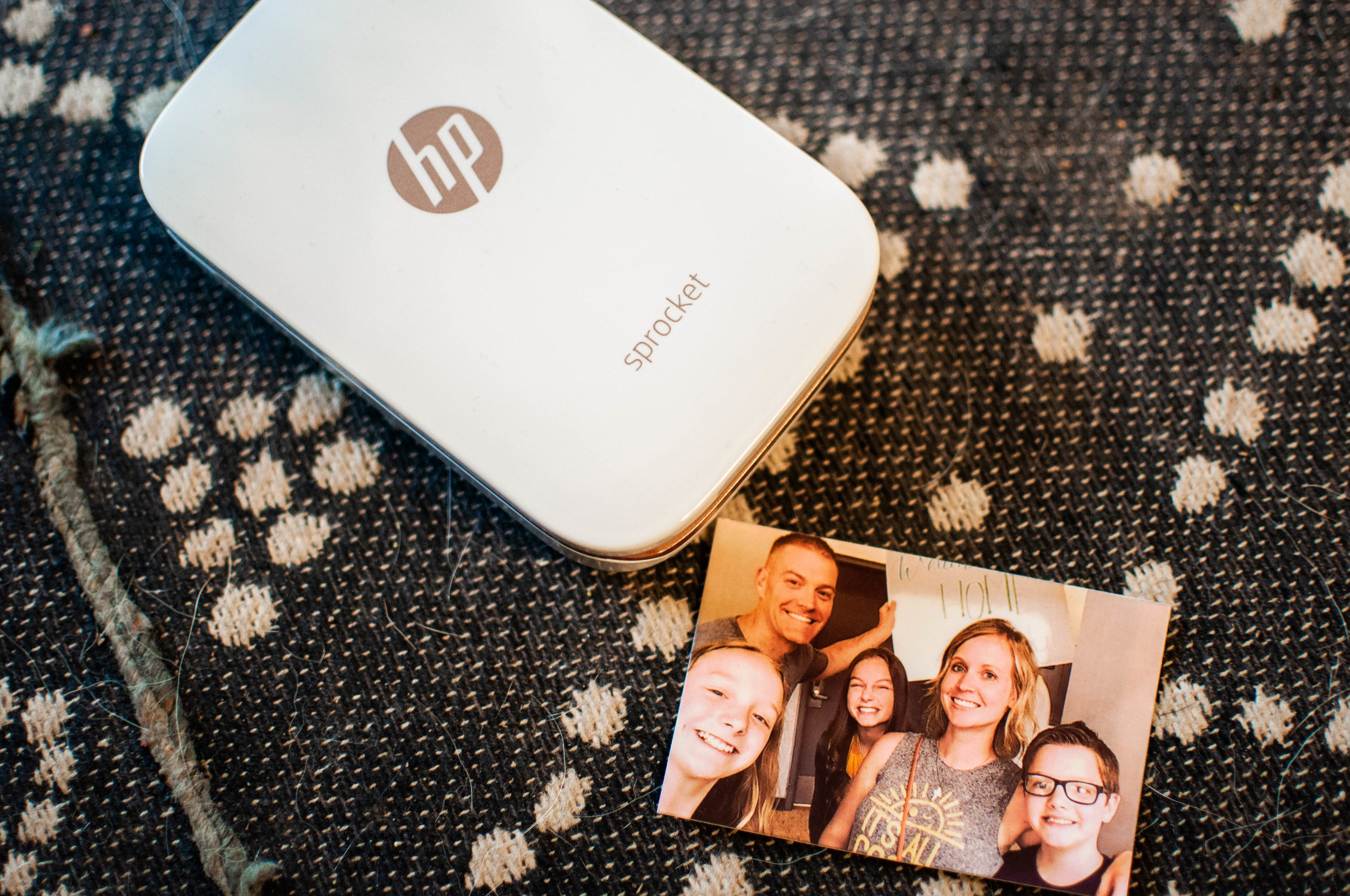 HP Sprocket. These are a few of my favorite things! The Sprocket prints out your phone photos via bluetooth! So fun!! | Pin Cut Sew Studio