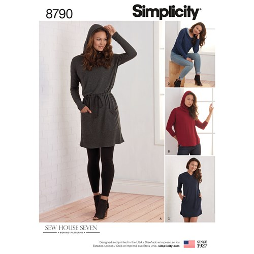 Simplicity Pattern 8790 || PIn Cut Sew Studio #simplicitypattern #athleisuresewing