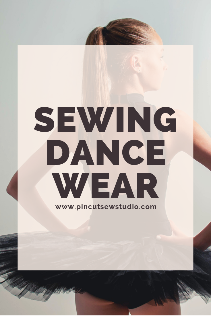 Adventures in dancewear sewing! Come check out my big list of dancewear sewing patters, from how to sew ballet leotards, to Irish dance and everything in between.    Pin Cut Sew Studio #howtosew #dancepatterns #sewingdancewear