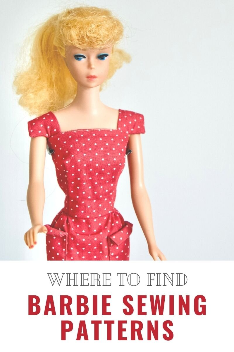 Sewing Patterns For Barbie Clothes For Beginners And Beyond Pin Cut Sew Studio