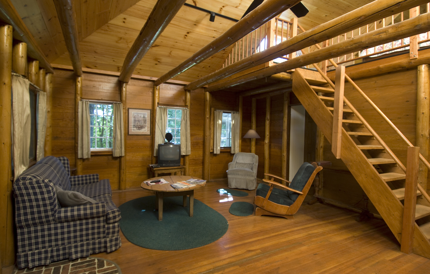 The Great Room in Lakewood Cottage