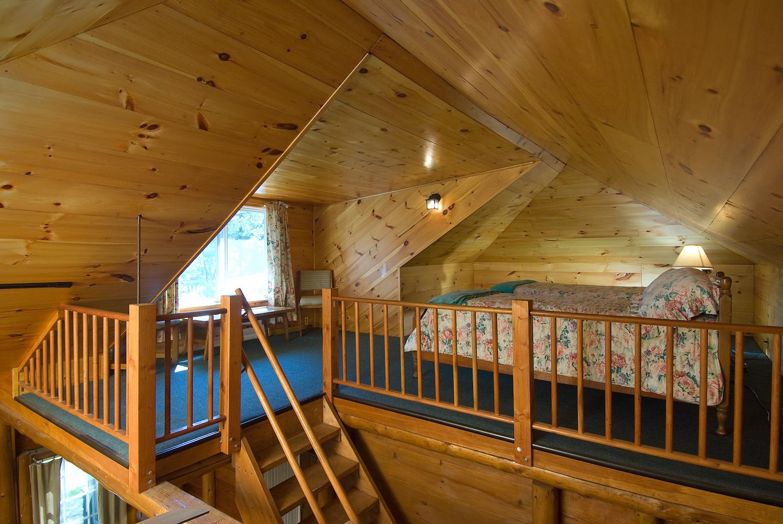 The Loft Bedroom in Lakewood Cottage