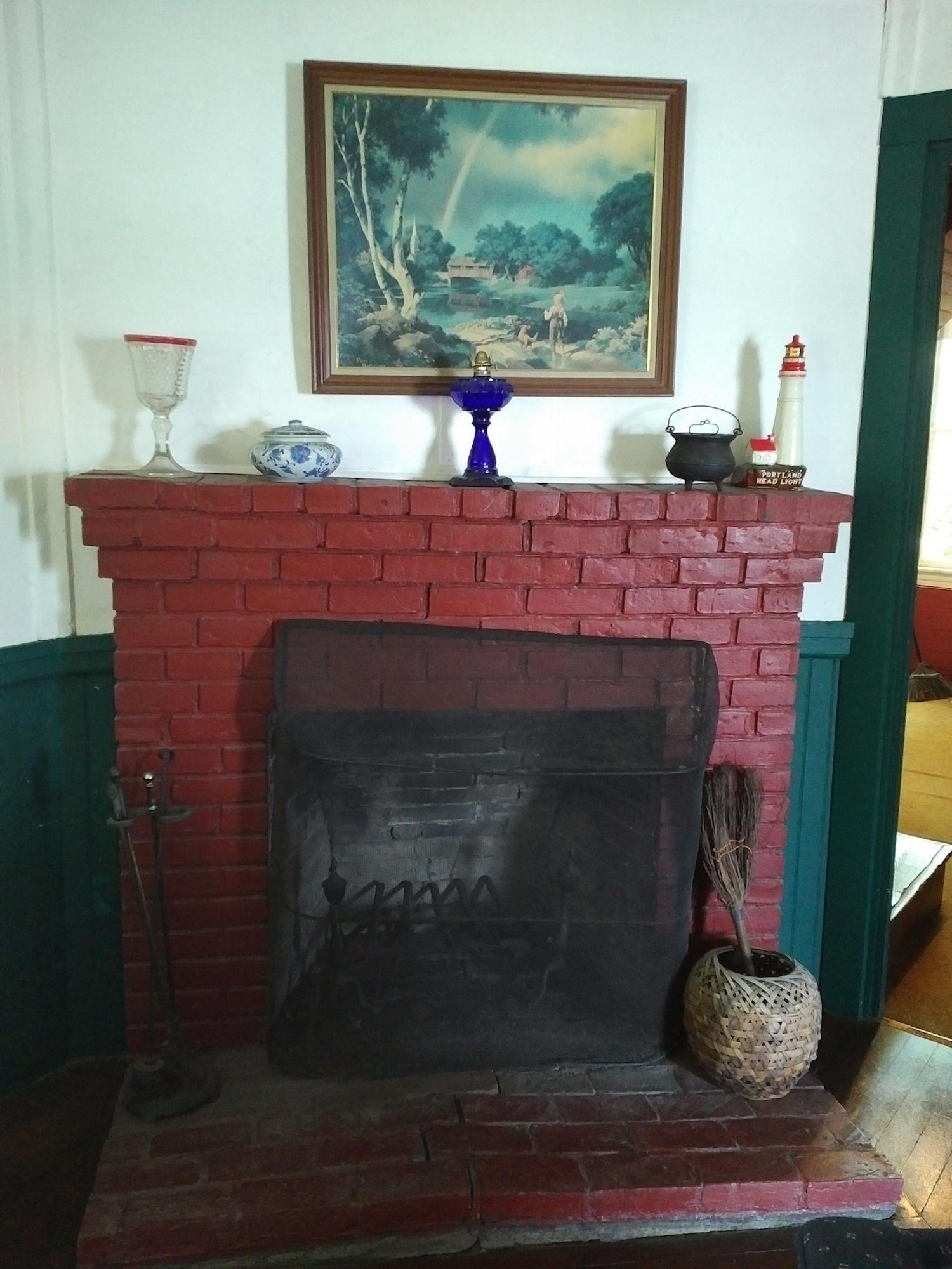 Lakeside Camp Fireplace