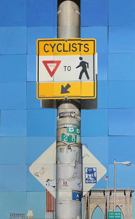Cyclists Yield