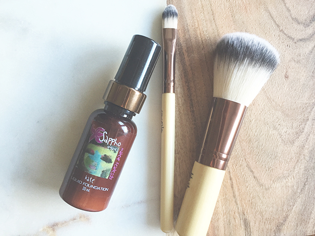 Sappho Liquid Foundation Review Liv Lundelius Natural Beauty Expert Organic Makeup Artist Sydney