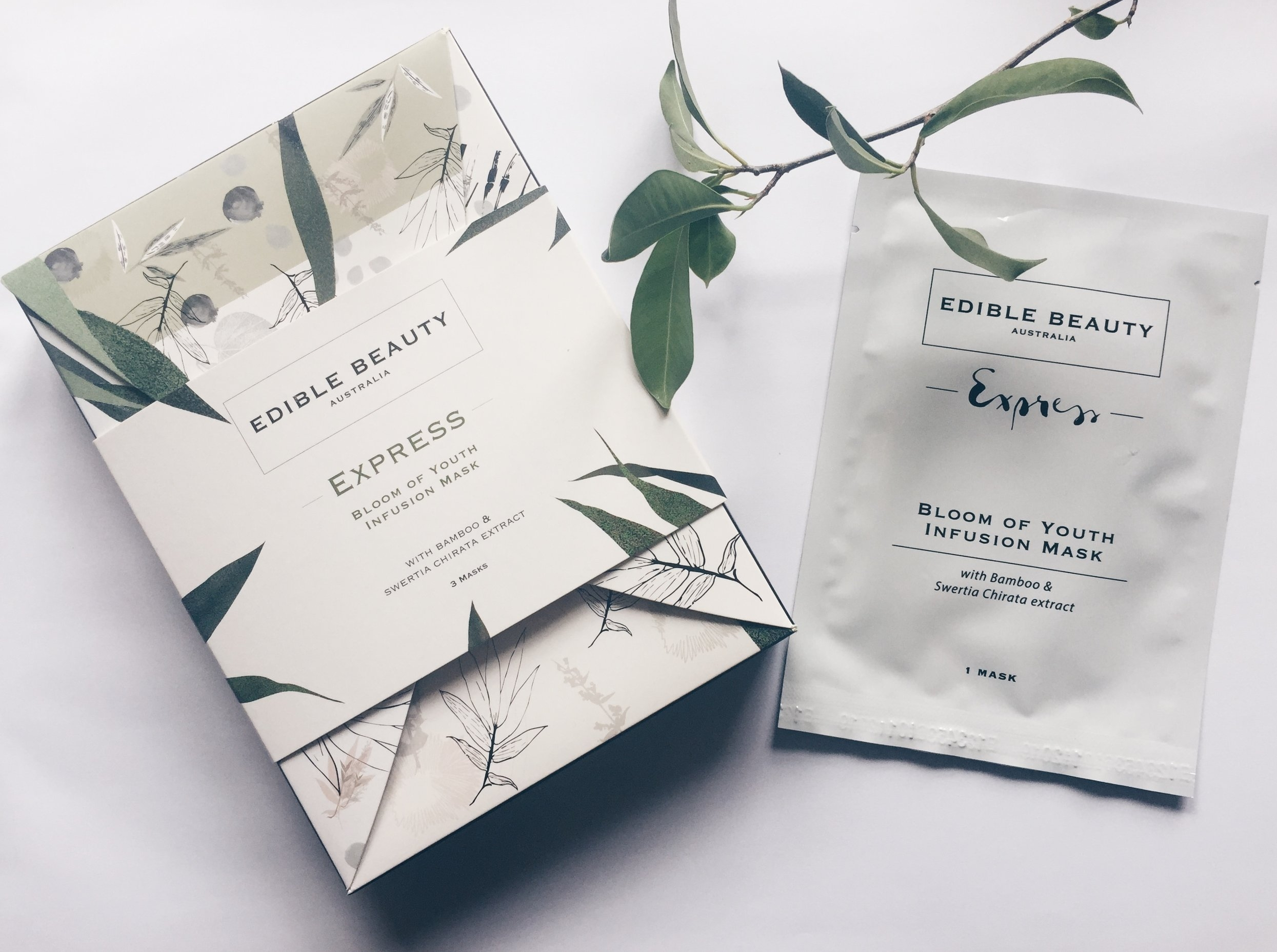 Edible Beauty Face Mask Review Vegan Organic Face Mask