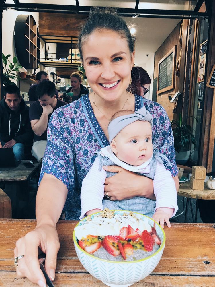 vegan mum vegan baby plant-based family acai bowl sydney vegans.jpg