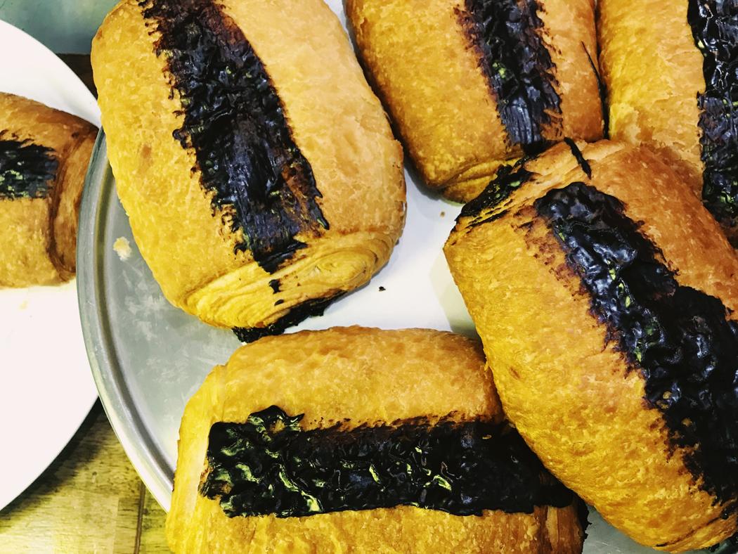vegan day out sydney glebe vegan family 12 gathered kitchen vegan croissants.jpg