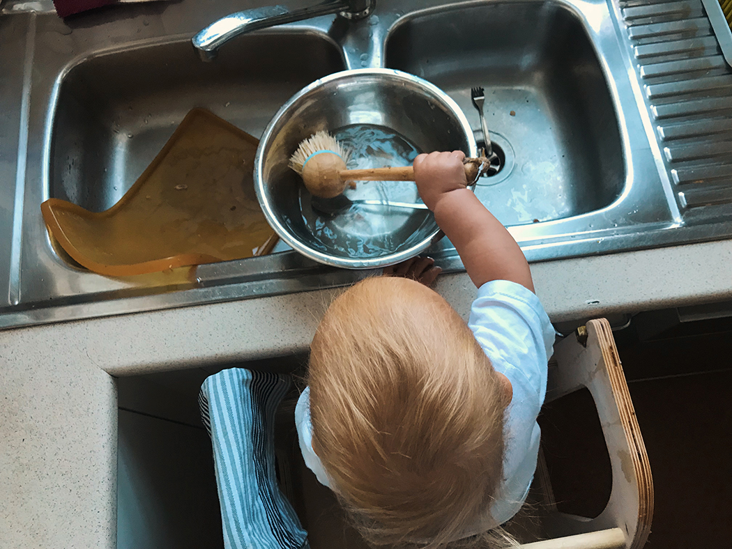 Montessori at home bondi beach toddler VEGAN FAMILY 23.jpg