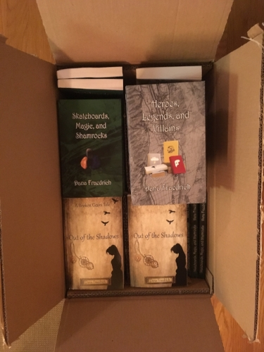 My little babies, all boxed up and ready to go meet a wider world!
