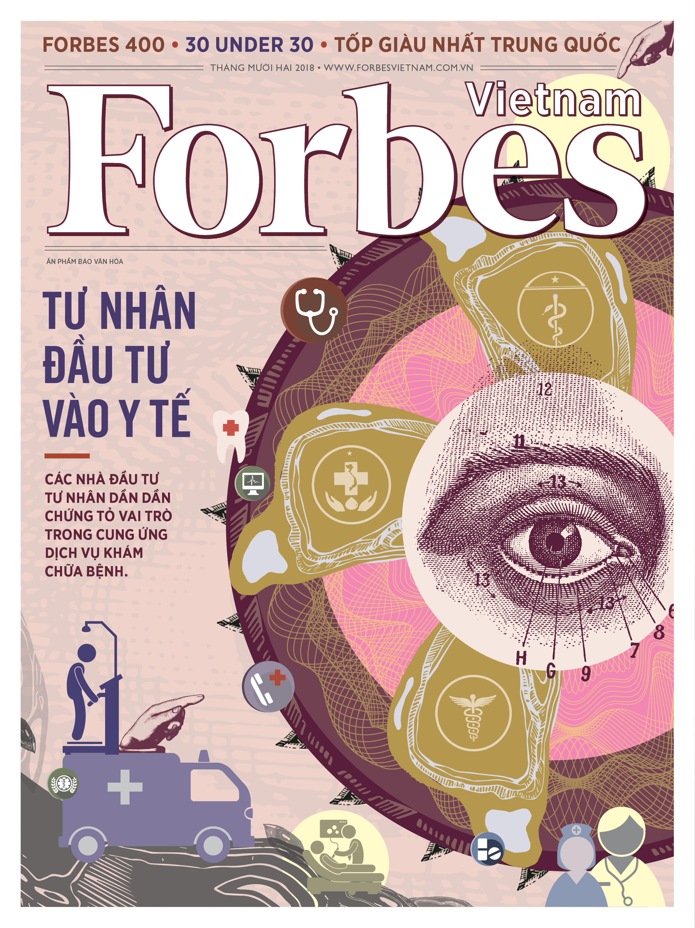 Forbes Vietnam Cover December 2018 Issue
