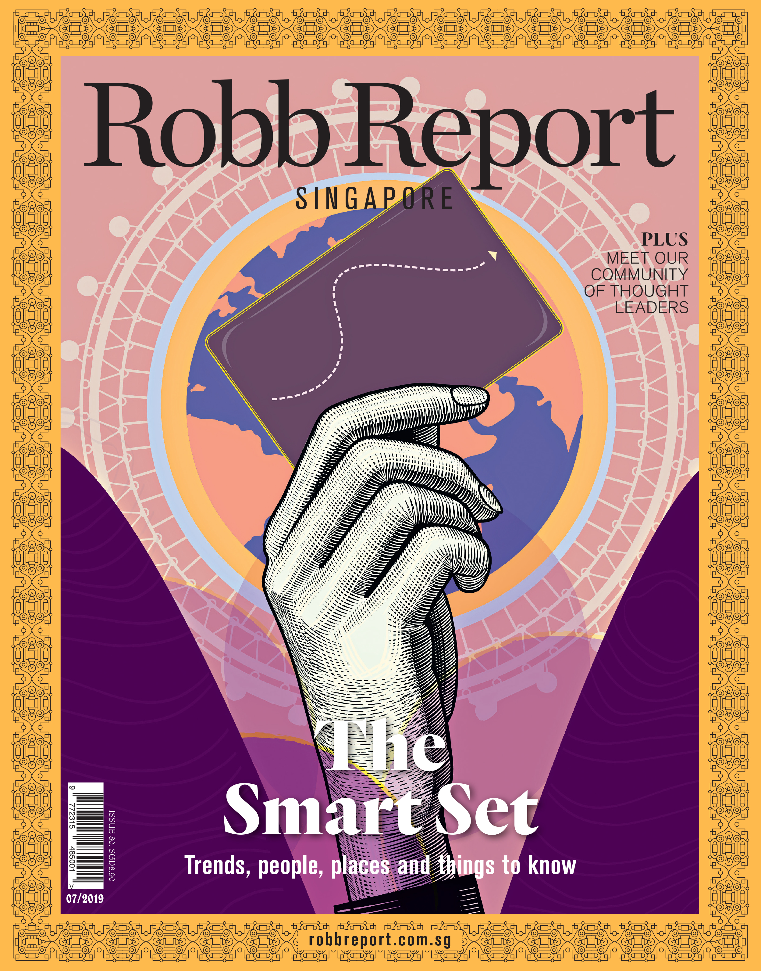 Robb Report Singapore Cover July 2019 Issue