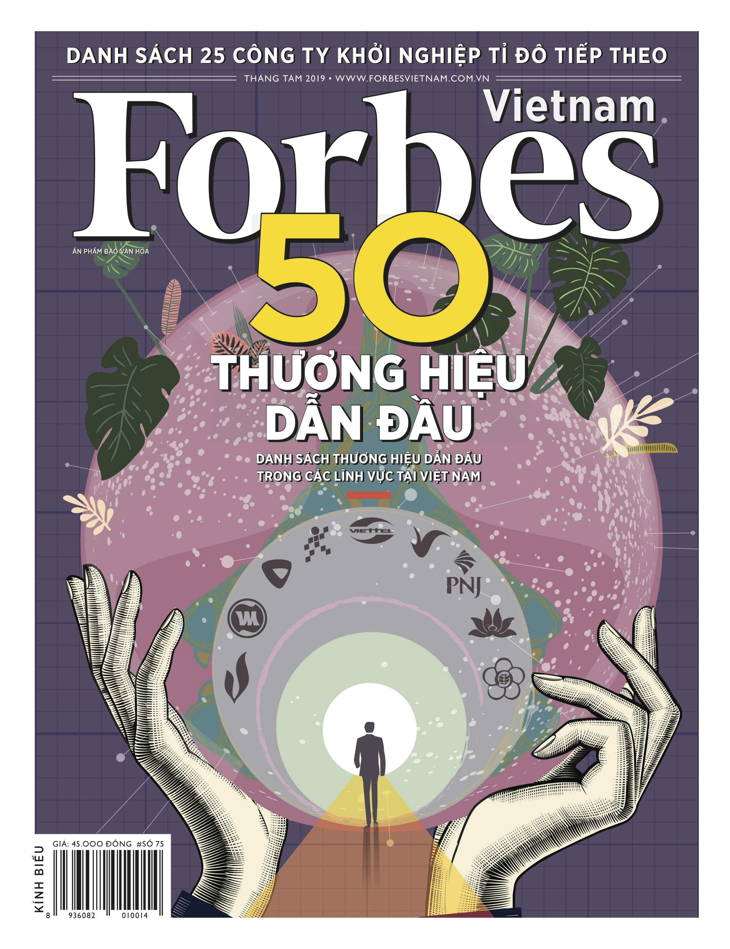 Forbes Vietnam Cover August 2019 Issue