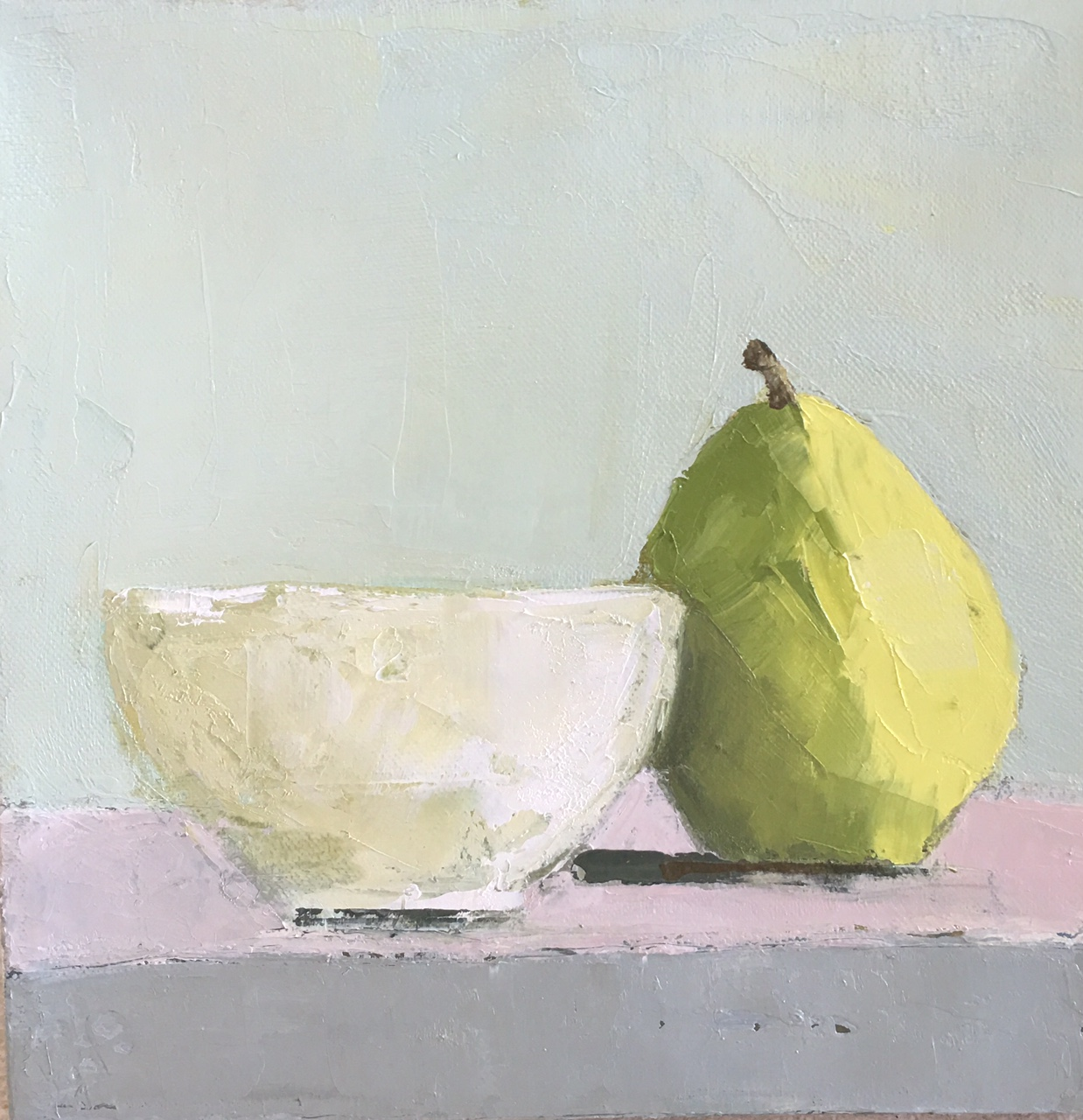 Pear and Bowl